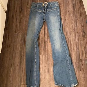 Flare boot leg jeans